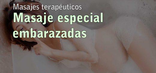 Masaje especial embarazadas en Toledo