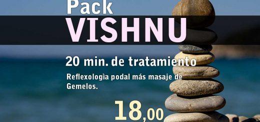 Pack Vishnu Reflexologìa podal más masaje de Gemelos